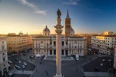 Rome - Rione XV Esquilino - Basilica di Santa Maria Maggiore