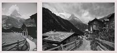 Zeitsprung III: Links Juli 1938, rechts Juli 2020 · Jump in time: left July 1938, right July 2020