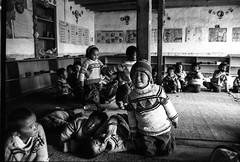 School in the Tibetan refugee camp, Himalaya, Choglamsar