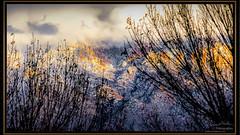 The Sandia with Fresh Snow