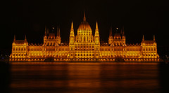Hungarian Parliament Building in Budapest, Hungary...#92