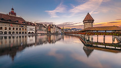 Evening colors in Luzern...