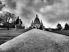 En route pour le Sacré-Cœur