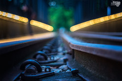 Bokeh @ Railmall track with Pentacon 50mm f1.8