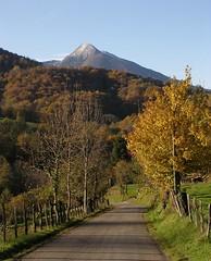 22/11/2005 le pic du Cagire vu du Bernes 31160 Aspet
