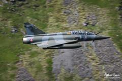 FAF Dassault Mirage 2000D low level in Northern England