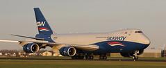 B-747, VQ-BVB, SilkWay, Schiphol Airport, 23 November 2020