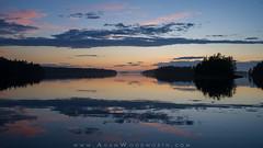 Sunset on the Coast of Maine