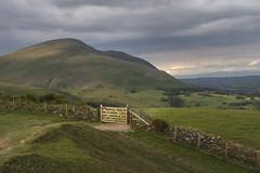 Latrigg towards Blencathra, Lake District