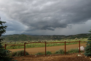 Storm moving in