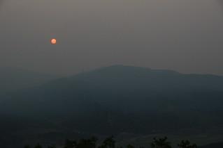 Smoky morning