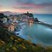 Sunrise In Vernazza