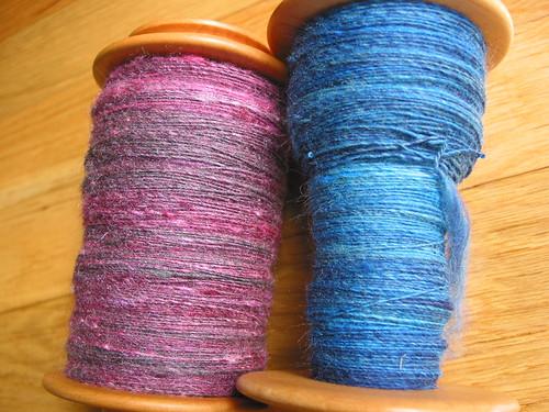 Rambouillet/silk, Grafton Fibers merino