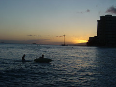 Kuhio Beach - Sunset