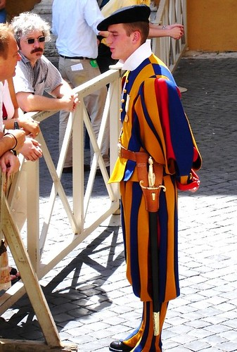 梵蒂岡的瑞士衛兵