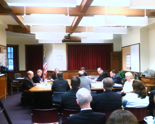 Winchester Cable Franchise Hearing