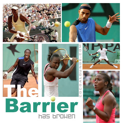 The Barriers Have Broken: Black Tennis Stars Emerge in France