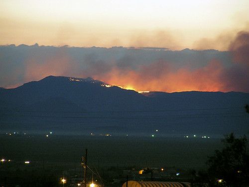 Black Mountain Fire 1