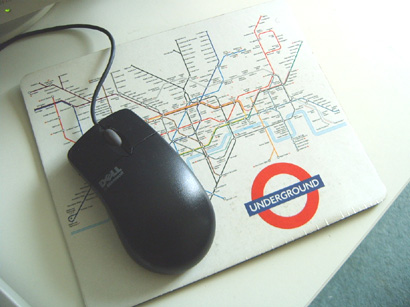 Tube Map Mouse Mat