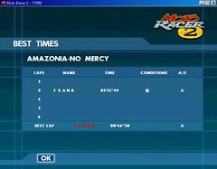 AMAZONIA - NO MERCY - MAP 非競賽紀錄
