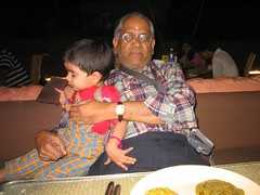 Santhanam thatha trying to control me at the restaurant