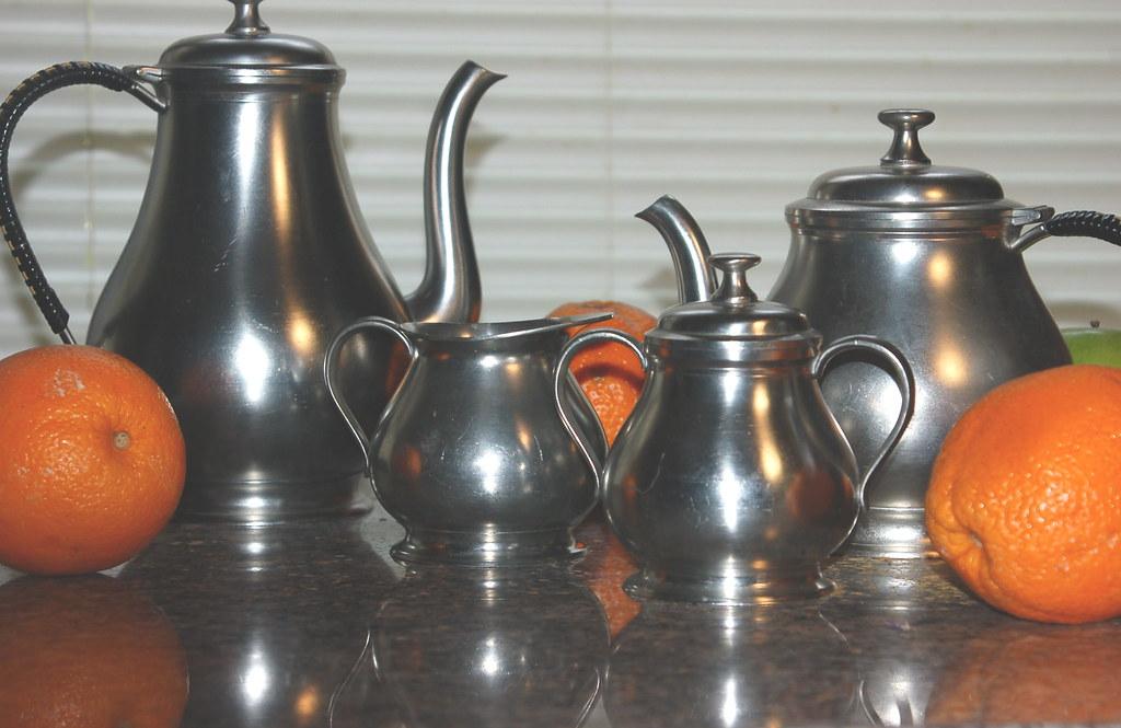 oranges & tea pots