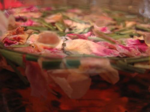 rosebuds and lemongrass