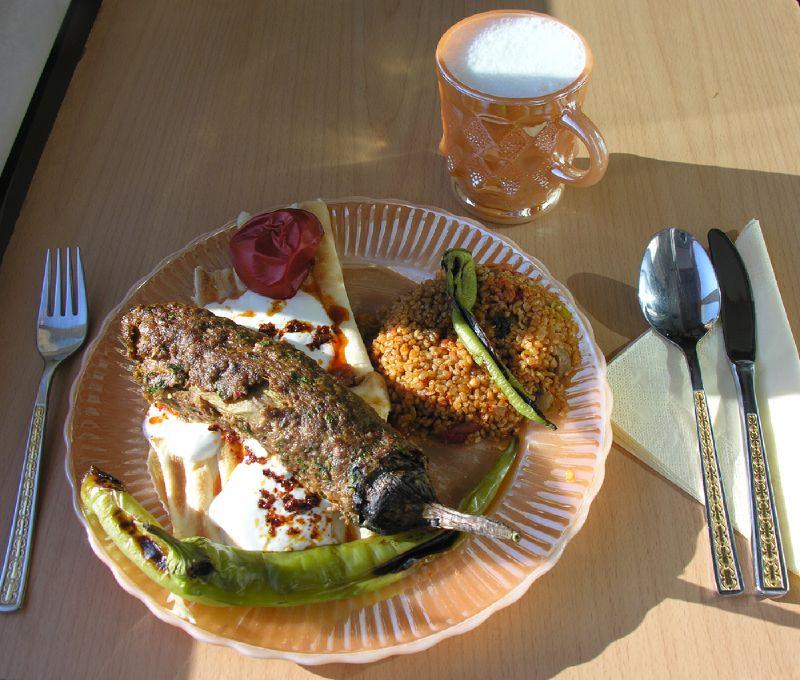 Patlıcanlı köfte kebabı tarifi