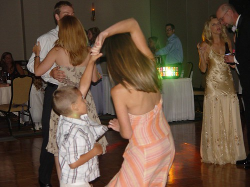 J and Mommy dancing