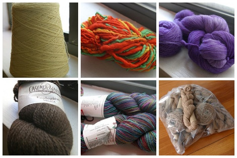 Yarn for sale - see my blog