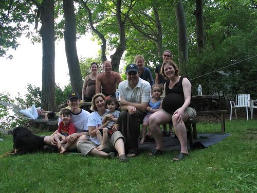 Kristi's cottage Lake Simcoe 2006