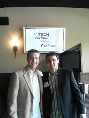 Frank and I at Tech Cocktail
