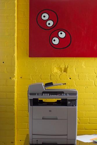 Chank Art and Multi-Function Printer