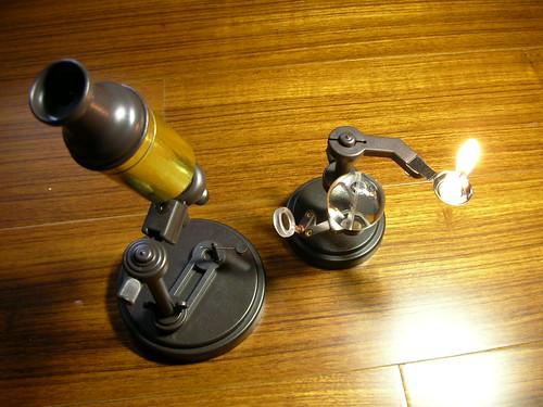 虎克顯微鏡的復刻版