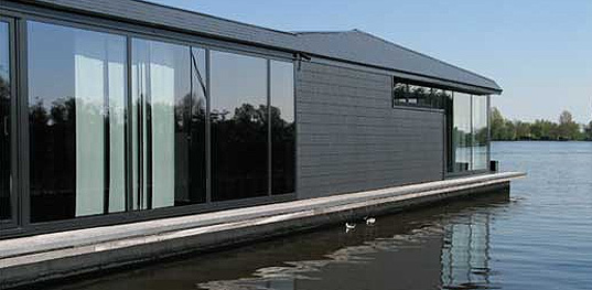 water, home, green building 101, floating, efficiency