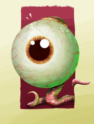 The ultimate crawling eye