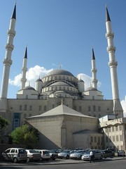 Kocatepe camii - close to where Guzden lives