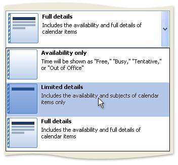 CalendarSharingOptions
