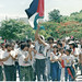Palestinian March in Nicaragua