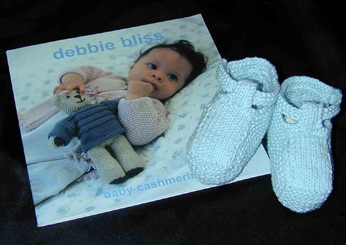 Baby booties for Gentry