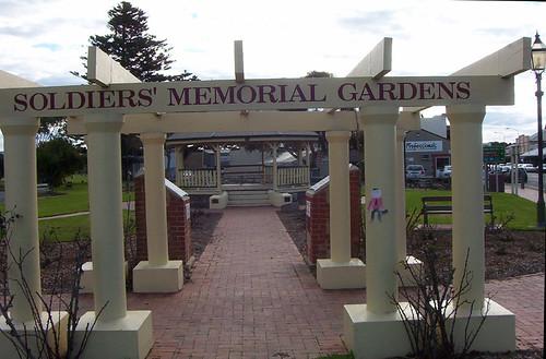 Memorial gardens visit