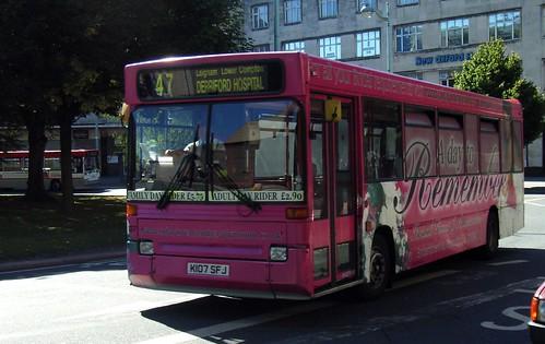 Plymouth Citybus 107 K107SFJ