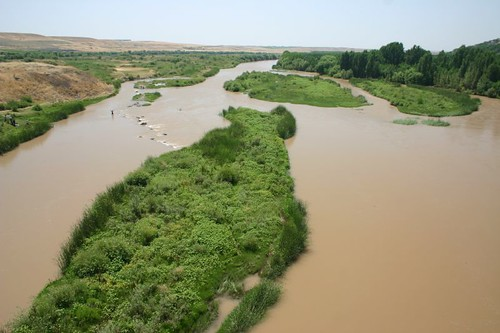 The legendary Tigris River east of Diyarbakır