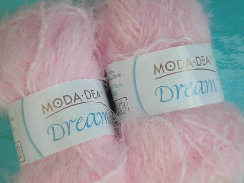 Yarn for Pink Scarf Project
