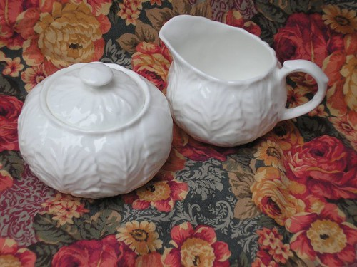 Wedgewood Countryware Sugar and Cream
