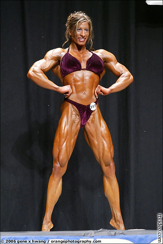 Angela Salvagno - 2006 NPC Las Vegas Light Heavyweight Champ