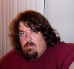 Before the hair cut