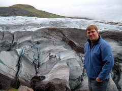 Me and the glacier
