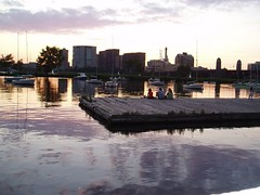 Charles River sunset