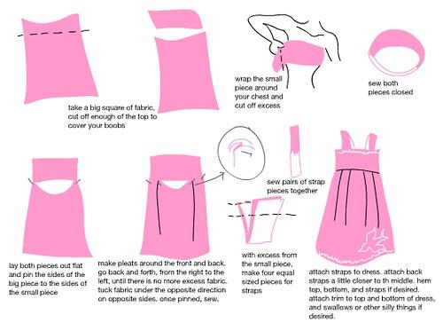 swallow dress tutorial